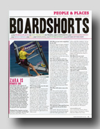 Zara Interview Windsurf July 2010